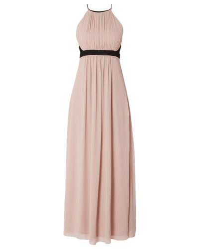 Abendkleid aus Chiffon mit Cut Out