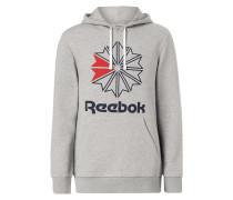 Hoodie mit großem Logo-Print