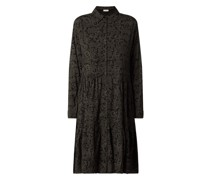 Blusenkleid aus Viskose Modell 'Lema'