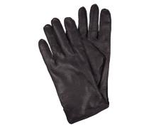 Handschuhe aus genarbtem Leder