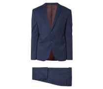 Super Slim Fit Anzug - dezent meliert
