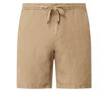 Shorts aus Leinen Modell 'Reso'