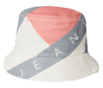 Bucket Hat aus Baumwolle mit Allover-Print