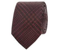Krawatte aus Seide mit Hahnentritt