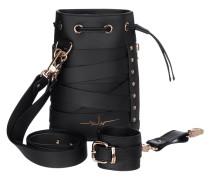 Matchbeutel aus Leder mit Armband