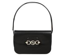 Handtasche in Leder-Optik Modell 'Hensely'