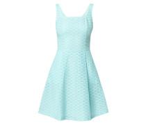 Kleid mit Karree-Ausschnitt