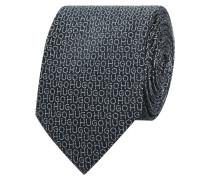 Krawatte aus Seide mit Logo-Muster