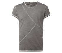 T-Shirt mit dekorativen Nähten