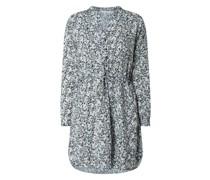 Hemdblusenkleid aus Krepp Modell 'Cory'