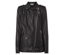 Oversize Jacke im Biker-Look