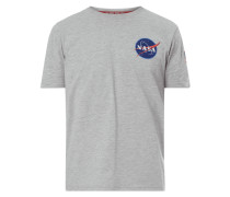 T-Shirt mit NASA-Stickerei