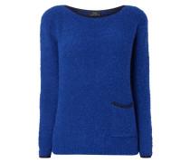 Pullover aus Bouclé