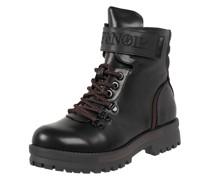 Boots in Leder-Optik
