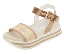 Sandalen mit Plateausohle Modell 'Jil'