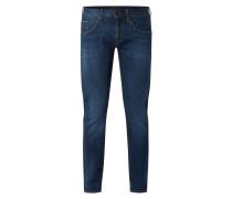 Straight Fit Jeans mit Stretch-Anteil Modell 'Denton'