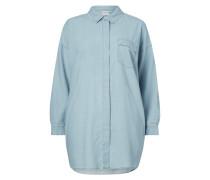 PLUS SIZE - Hemdblusenkleid aus Denim