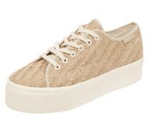 Plateau-Sneaker aus Textil