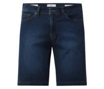 Straight Fit Jeansshorts mit Stretch-Anteil Modell 'Bali'