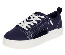 Sneaker aus Leder und Textil Modell 'Sommr'