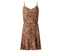 Kleid mit Allover-Muster Modell 'Nya'