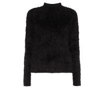 Pullover aus flauschigem Material