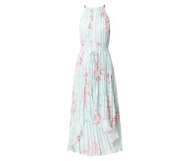 Vokuhila Kleid mit floralem Print