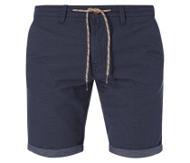 Slim Fit Bermudas mit Allover-Muster