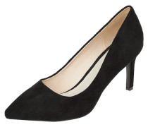 Pumps in Veloursleder-Optik