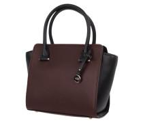 Handtasche mit Kontrastdetails