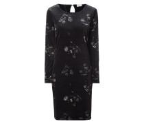 Kleid aus Samt mit floralem Muster