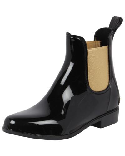 ralph lauren damen chelsea boots aus gummi reduziert. Black Bedroom Furniture Sets. Home Design Ideas