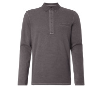 Longsleeve mit Button-Down-Kragen