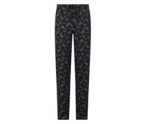 Lounge-Hose mit Paisley-Muster