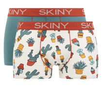 Trunks mit Stretch-Anteil im 2er-Pack Modell 'Every Day in Cotton'