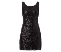 Kleid mit Muster aus Pailletten