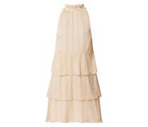 Kleid aus Chiffon im Stufen-Look Modell 'Mara'