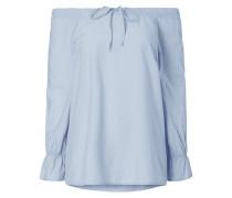 Off Shoulder Blusenshirt aus Baumwolle