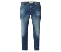 Slim Fit 5-Pocket-Jeans mit Stretch-Anteil