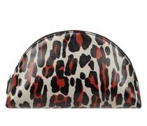 Kosmetiktasche mit Leopardenmuster Modell 'Spileo'