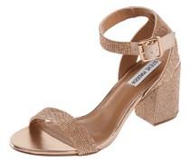 Sandalette mit Ziersteinbesatz Modell 'Malia'