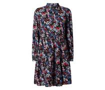 Kleid mit Allover-Muster Modell 'Mali'