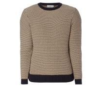 Pullover im 3-farbigen Design