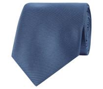 Krawatte mit feiner Rippenstruktur