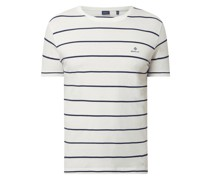 T-Shirt aus Baumwolle Modell 'Breton'