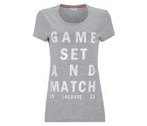 T-Shirt mit Motto-Print