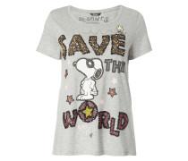 T-Shirt mit Peanuts©-Print