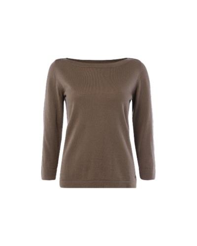 polo damen pullover aus schurwolle mit u boot ausschnitt reduziert. Black Bedroom Furniture Sets. Home Design Ideas