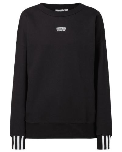 Sweatshirt mit Logo-Aufnäher