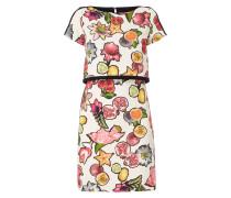 Kleid im 2-in-1-Look mit Obst-Print